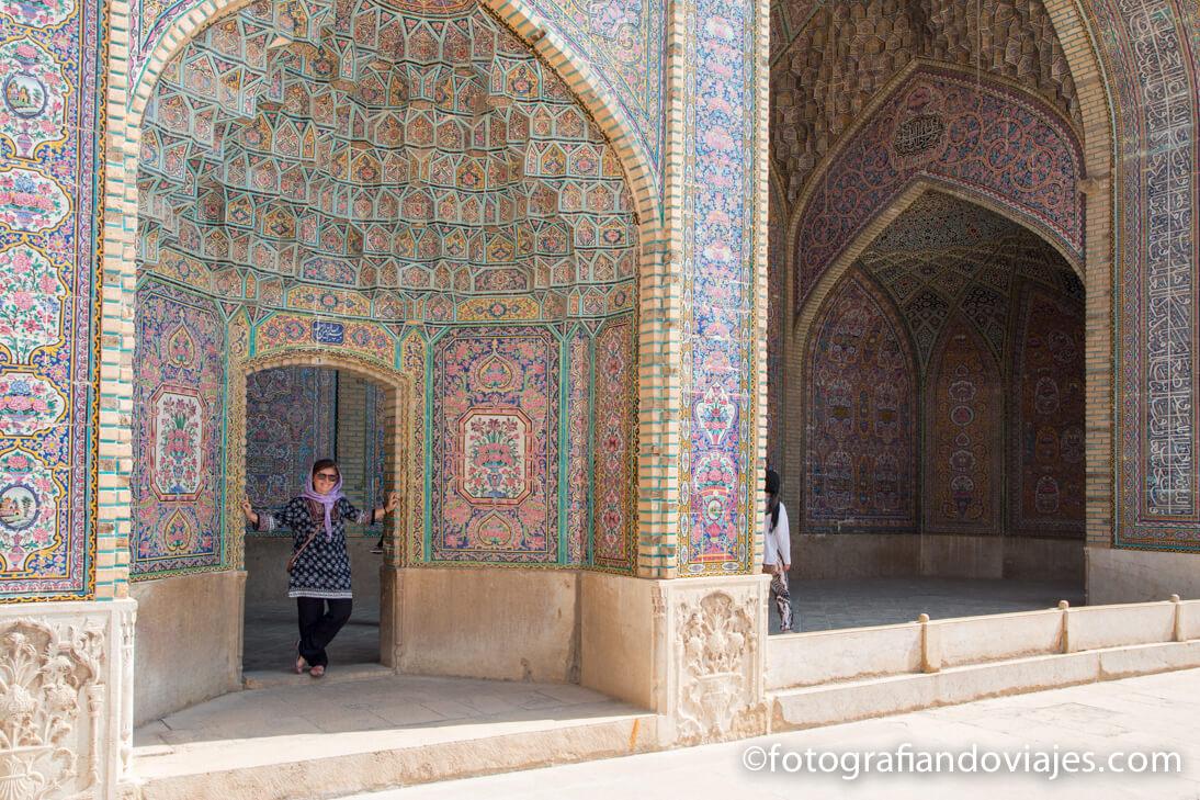 Mezquita Nasir al Mulk en Shiraz