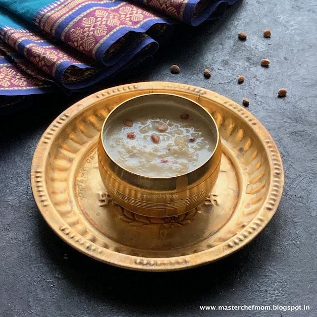 Saravana Payasam | Thaipoosam Special Recipe | Gluten Free Recipe