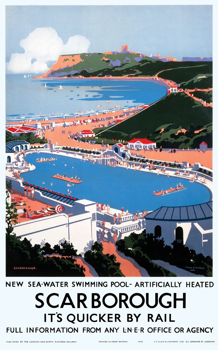 Art artists railway posters part 4 for Swimming pool design yorkshire