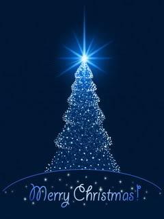 božićne čestitke za mobitel Slike i pozadine za mobitele: Sjajna Božićna jelka i čestitka  božićne čestitke za mobitel