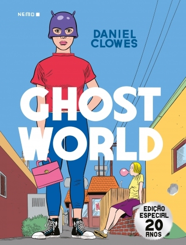 Capa da HQ Ghost World