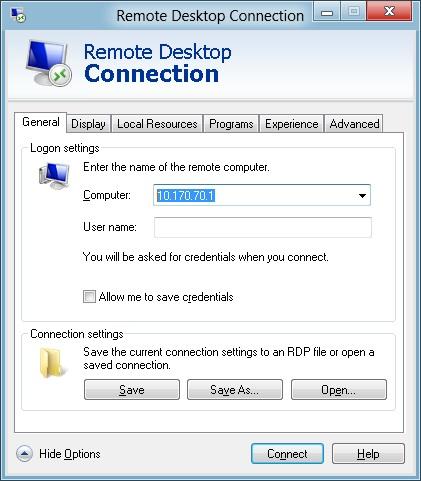The Microsoft Platform: Remote Desktop Client in Windows 8
