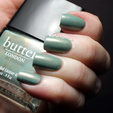 Butter London Two Fingered Salute (work / play / polish)