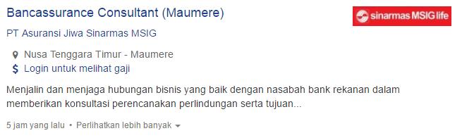 Info Lowongan Kerja Kabupaten Malaka Terbaru 2019.