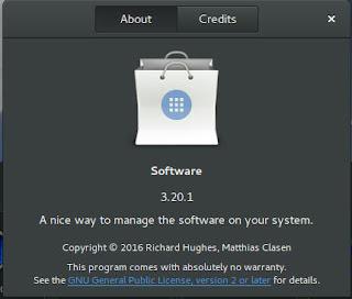 Softwares 3.20 on Ubuntu 16.04