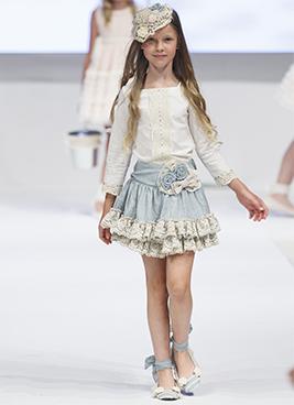 La Ormiga obtuvo un gran éxito en FIMI, donde exhibió sus últimas creaciones en moda infantil para la temporada Primavera Verano 2017.