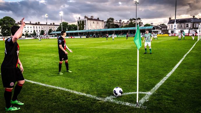 Wallpaper: Football Scene