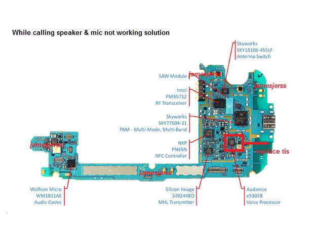 Samsung Headset Wiring Diagram Samsung Galaxy S4 Schematic