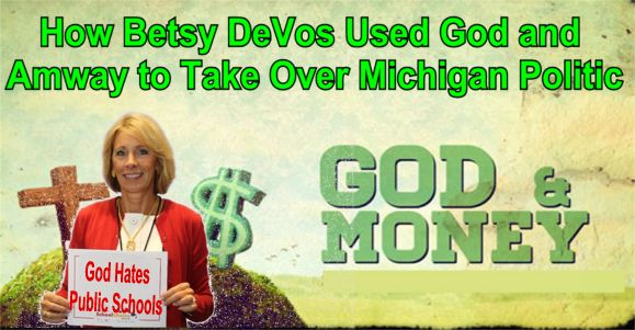 Image result for big education ape Betsy DeVos michigan