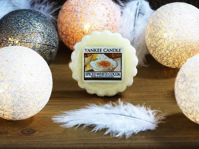Avis Spiced White Cocoa de Yankee Candle - BOUGIES ET CIRES PARFUMEES - blog bougie - blog parfum
