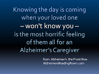 Alzheimer's They Won't Know You | Alzheimer's Reading Room