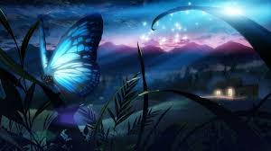 kupu-kupu biru