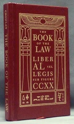 Liber Al Vel Legis, Livro da Lei, Thelema, Crowley