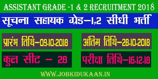 recruitment 2018