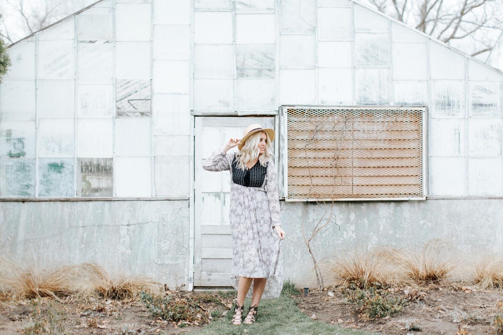 Shop Goldies, Peasant Dress, Utah Fashion Blogger