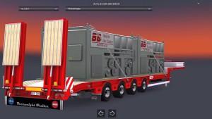 1.26 ZORZI Platform trailer