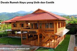 15 Desain Rumah Kayu keren yang Unik dan Cantik ( Referensi Rumah kayu dari endhomedesign )