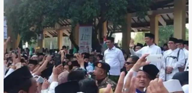 Kirab Satu Juta Santri di Sidoarjo, Ini Harapan Jokowi Terhadap Pemuda Indonesia