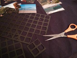 Vágjátok kisebb darabokat a mágneses lapból