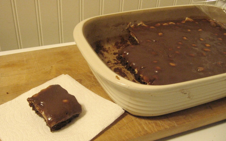 Dish Of This Dash Of That Rocky Road Brownies