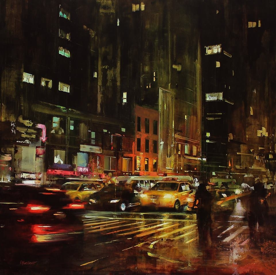 14-Lindsey-Kustusch-Urban-Goings-on-Captured-in-Oil-Paintings-www-designstack-co