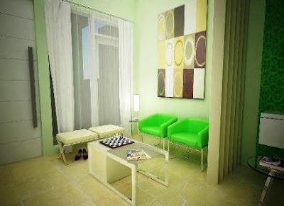 Desain ruang tamu sempit