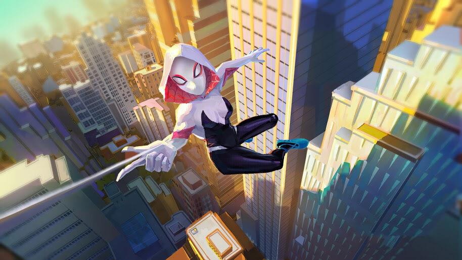 Spider-Gwen, Marvel, Superhero, 4K, #6.1319