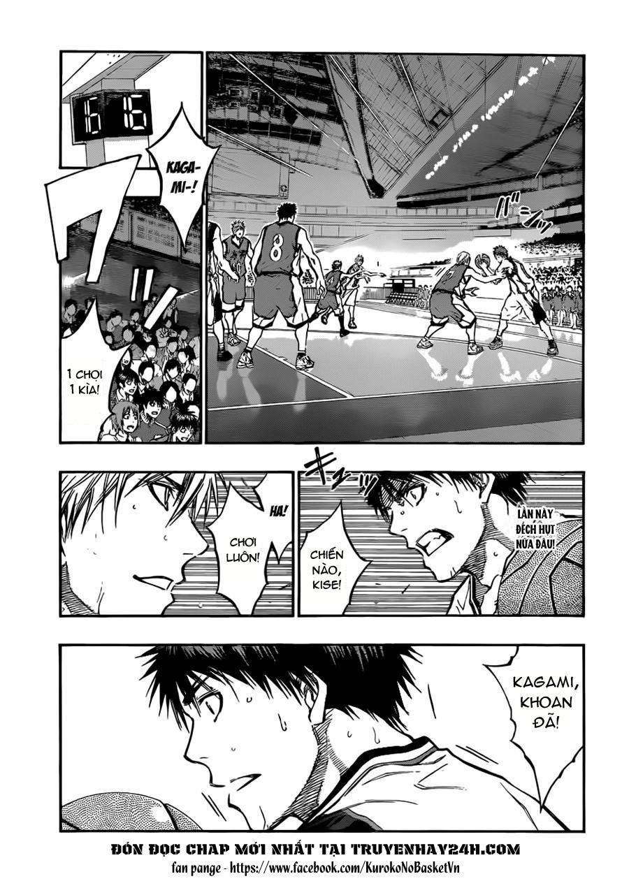 Kuroko No Basket chap 187 trang 3