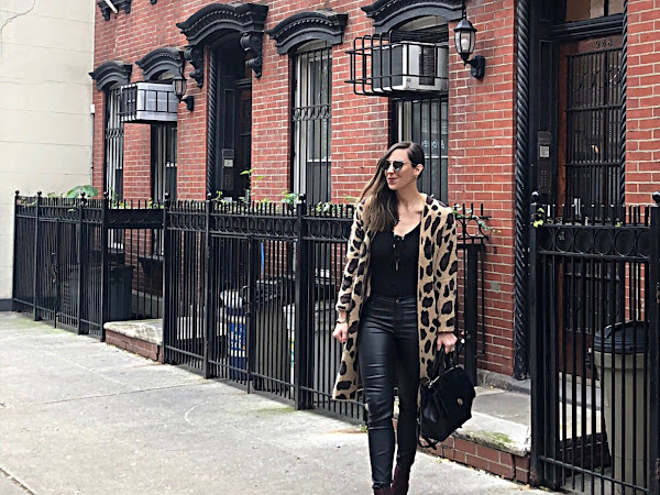 Leopard Duster: NYC Style