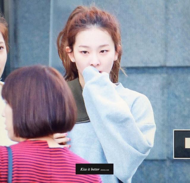 Seulgi Red Velvet Without Makeup