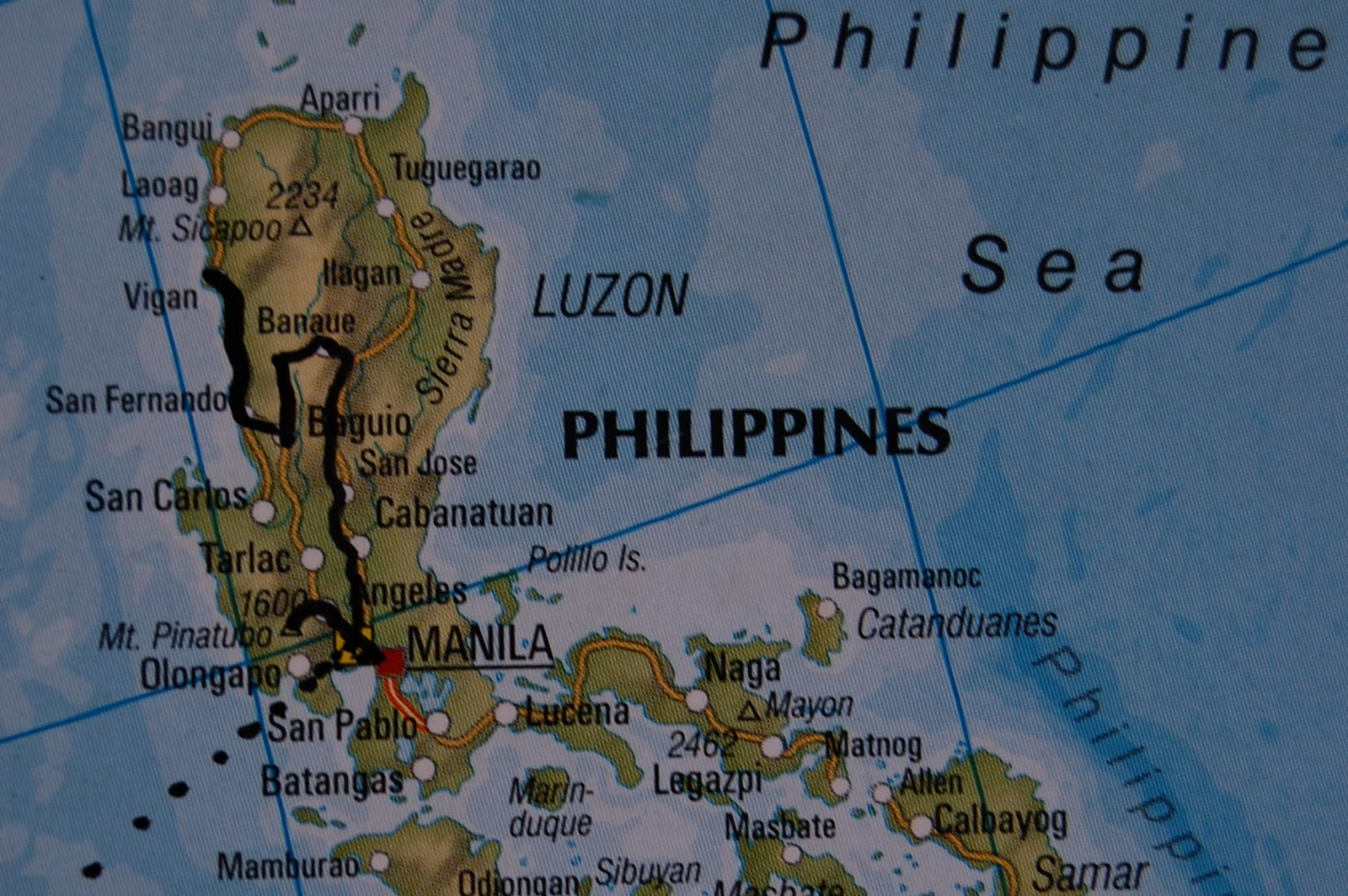 We hand picked all map manila to vigan