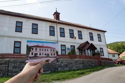 100 év Alsósófalva - Az iskola épülete