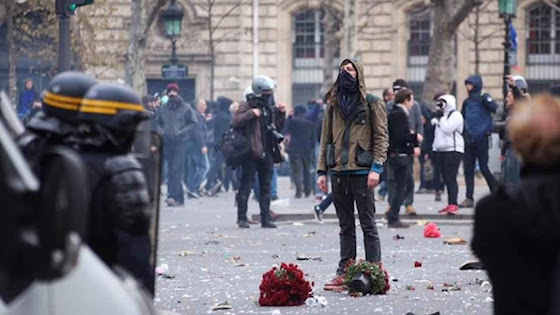 'Justiça climática' é um novo slogan da revolução anarco-comunista.