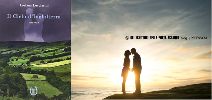 """""""Il cielo d'Inghilterra"""" di Loriana Lucciarini - Cover"""