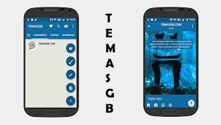 BAIXAR TEMAS GBWHATSAPP - MASHMALLOW BLUE