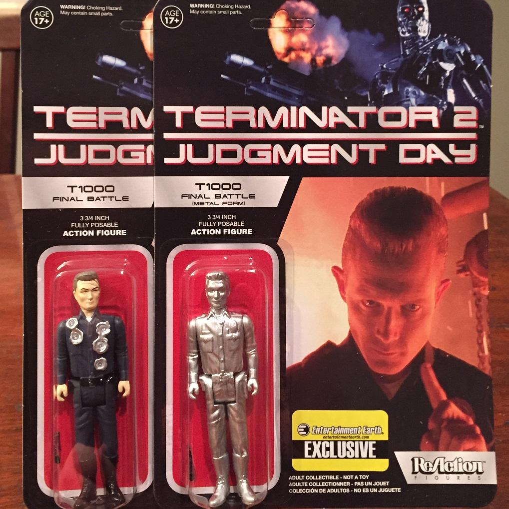 "Toy Review  Entertainment Earth Exclusive Terminator 2 ""Final Battle""  T-1000 ReAction cec32713adc5"