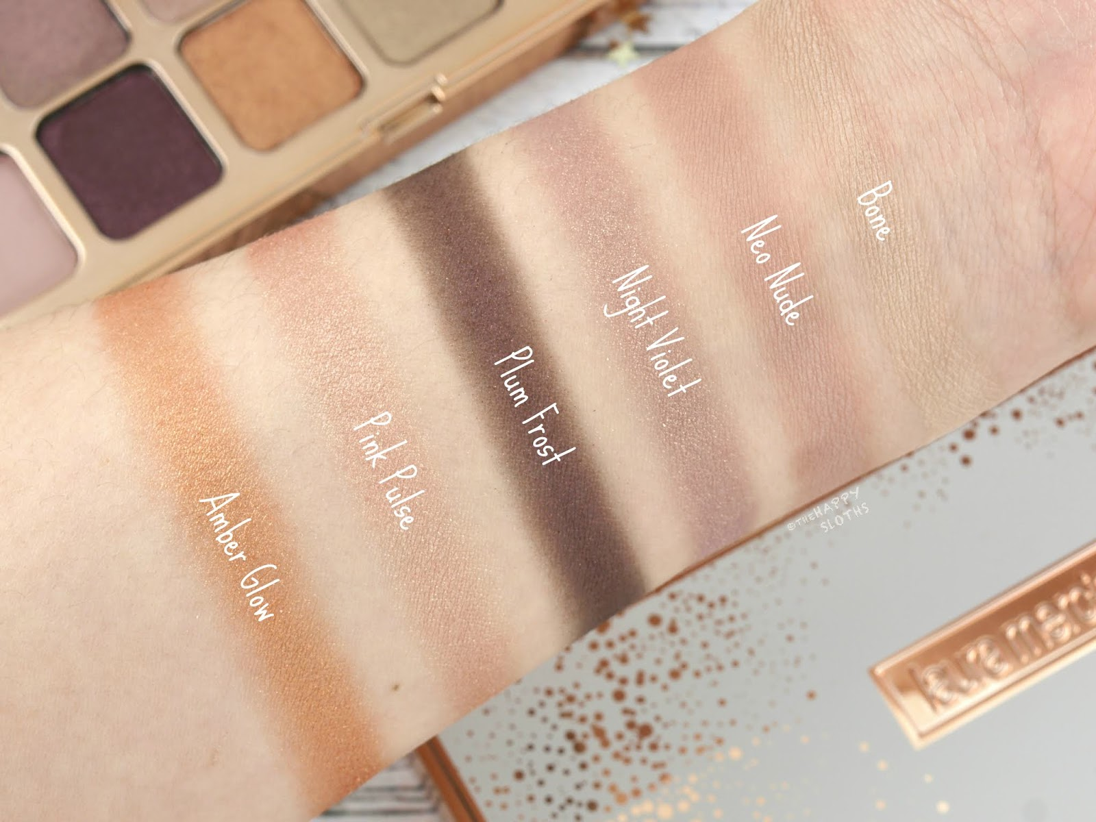 Laura Mercier | Holiday 2018 Nights Out Eyeshadow Palette: Review and Swatches