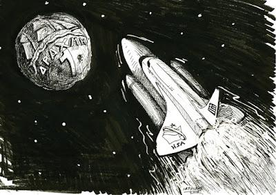 IaTriDis Γελοιογραφία : Σε τροχιά