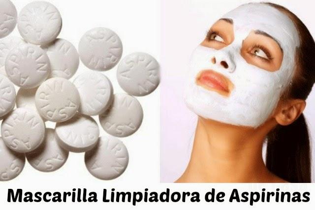 Mascarilla Casera de Aspirinas Limpiadora