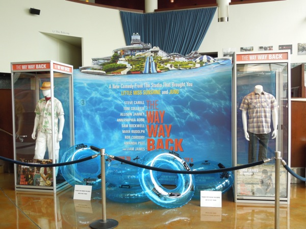 Way Way Back movie costume exhibit