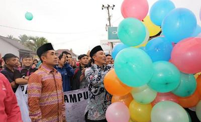 Rayakan Pelantikan Parosil, PLB Adakan Pawai 1000 Balon Harapan