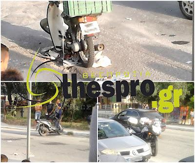 Τροχαίο ατύχημα με τραυματισμό στο Γραικοχώρι Ηγουμενίτσας (+ΦΩΤΟ)