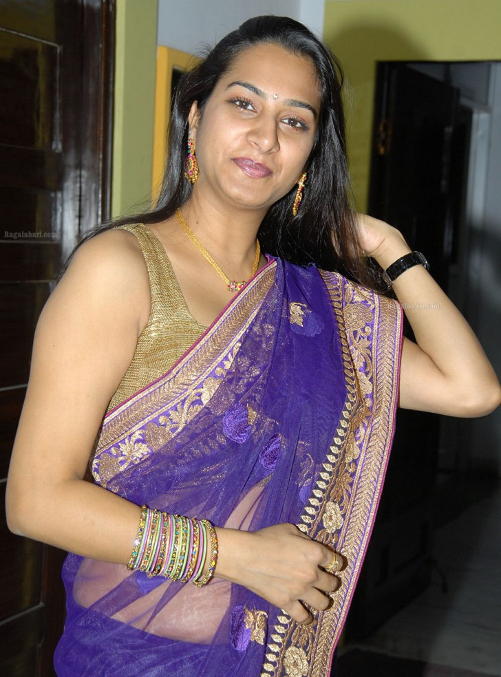 Actress Surekha Vani In Saree At A Function  Electrihot-4094
