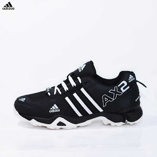 Jual Sepatu Tracking Adidas AX2 Hitam Putih