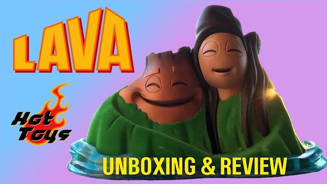 Lava Uku and Lele Hot Toys Cosbaby figure