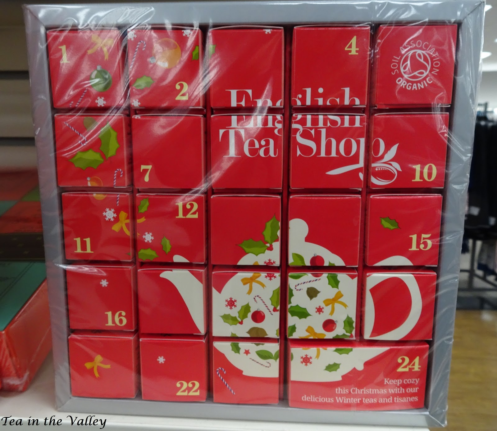 tea in the valley tea advent calendars. Black Bedroom Furniture Sets. Home Design Ideas