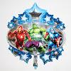 Balon Foil Karakter Avengers Star