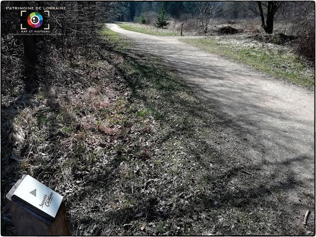 LUDRES (54) - Sentier pédagogique : Le Secret de la Castine