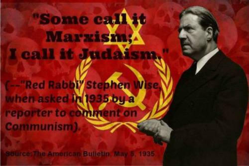 RACIST is a made up Bolshevik jew Word - Babylonian Telmudic JUDAISM is Communism - Images