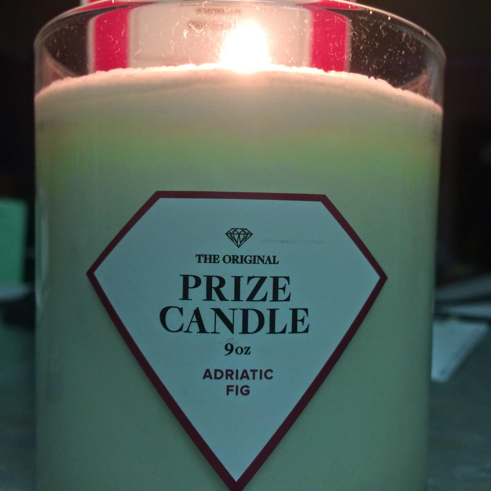 Adriatic Fig #prizecandle burning candle